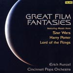 Erich Kunzel (conductor), Cincinnati Pops Orchestra - Great Film Fantasy (Japan Import)