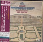 Karl Richter (conductor), Munich Bach Orchestra - J.S. Bach: Brandenburg Concerti Nos. 4-6 [Cardboard Sleeve (mini LP)] [SHM-SACD] [Limited Release] (Japan Import)