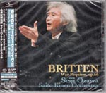 Seiji Ozawa (conductor) - Kiseki no New York Live III Britten: War Requiem [SHM-SACD] [Limited Release] [SACD] SACD (Japan Import)