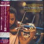 Kyung-Wha Chung (violin), Andre Previn (conductor), London Symphony Orchestra - Tchaikovsky & Sibelius: Violin Concertos [Cardboard Sleeve] [SHM-SACD] [Limited Release] [SACD] (Japan Import)