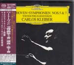 Carlos Kleiber (conductor), Wiener Philharmoniker - Beethoven: Symphonies Nos. 5 & 7 [SHM-SACD] [Limited Release] (Japan Import)
