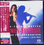 Anne-Sophie Mutter (violin), James Levine (conductor), Berliner Philharmoniker - Carmen-Fantasie [SHM-SACD] [Limited Release] (Japan Import)