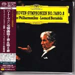 Leonard Bernstein (conductor), Vienna Philharmonic Orchestra - Beethoven: Symphonies Nos. 7 & 8 [Cardboard Sleeve (mini LP)] [SHM-SACD] [Limited Release] (Japan Import)