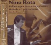 Marcello Rota (conductor), Czech National Symphony Orchestra - Nino Rota: Sinfonia sopra una canzona d'amore, Sinfonia N. 1 per orchestra (Japan Import)