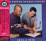 Art Pepper & George Cables - Tete-A-Tete (Japan Import)