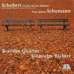 Borodin Quartet - Schumann: Piano Quintet + Schbert: String Quartet, 14, (Japan Import)