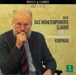 Ton Koopman (cembalo) - J. S. Bach: The Well-Tempered Clavier 1 (Japan Import)