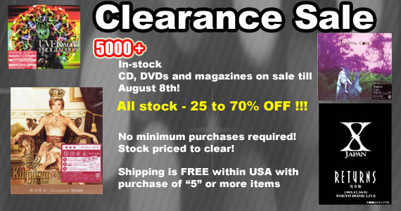Jpophelp - Massive CD & Magazine Sales Event! Up to 70% OFF